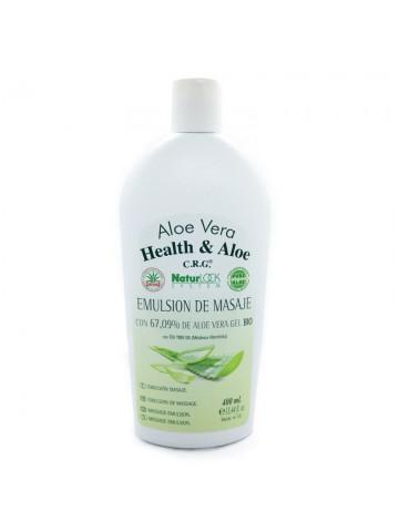 <span class='notranslate' data-dgexclude>Health & Aloe</span> Aloe Vera NaturLock System Emulsione per massaggi con 67.09% gel d