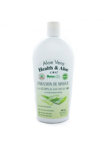 <span class='notranslate' data-dgexclude>Health & Aloe</span> Aloe Vera NaturLock System Massage emulsion with 67.09% aloe vera