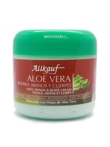 Allkauf Aloe Vera Rostro, Manos y Cuerpo Reafirmante y Revitalizante