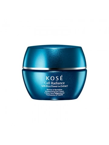 Kose Cell Radiance With Rice Power Extract Ravviva e rivitalizza la crema per gli occhi idratante