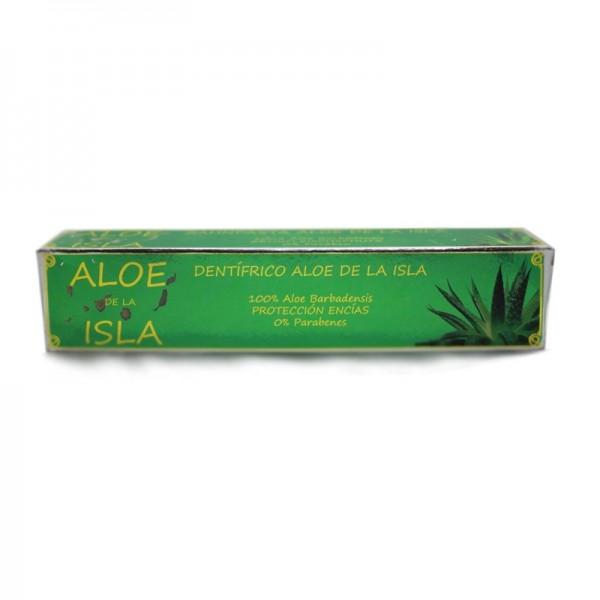 Aloe de la Isla Dentífrico con Aloe Vera 100% Aloe Barbadensis