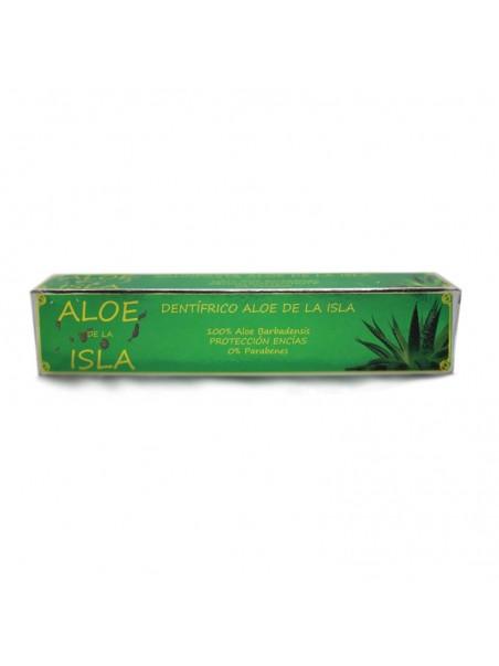 Aloe de la Isla Toothpaste with Aloe Vera 100% Aloe Barbadensis
