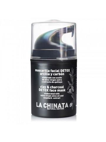 La Chinata Mascarilla Facial Detox Arcilla y Carbón