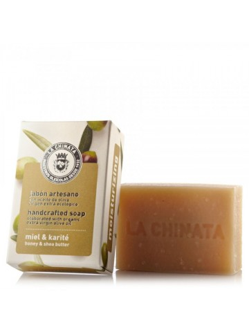 La Chinata Honey and Shea Moisturizing Artisan Soap