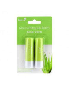 Pretty Aloe Vera Balsamo Labial 2Pack