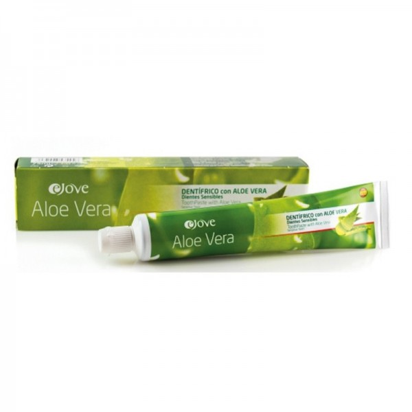 Dentifricio Ejove Aloe Vera con denti sensibili all'Aloe Vera