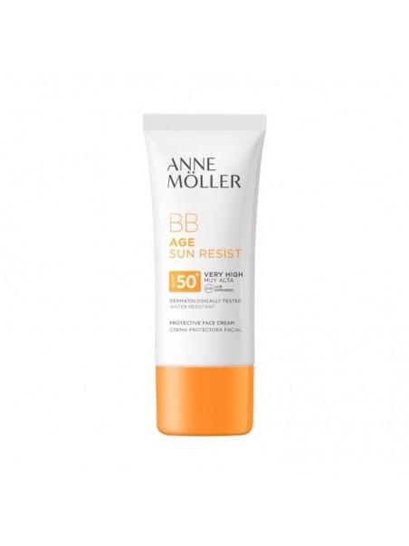 Anne Moller Age Sun Resist Bb Crema Spf50+ 50Ml