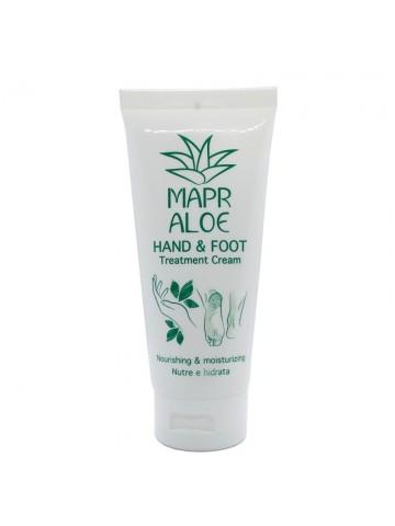 Mapr Aloe Crema Trattamento Mani e Piedi Nutriente e Idratante