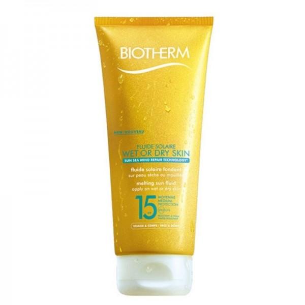 Biotherm Fluide Solaire Scioglimento della pelle umida o secca